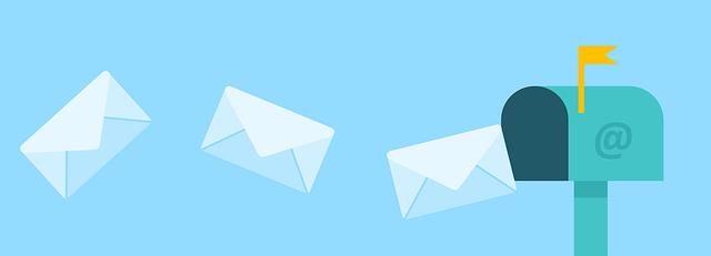 posílání dopisů