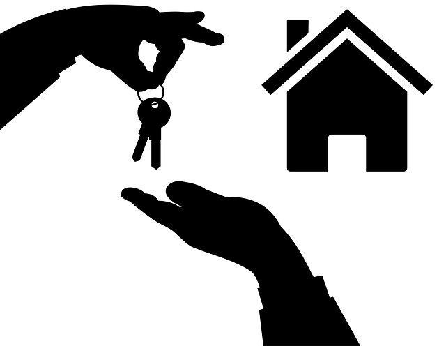 předání klíčů od domu