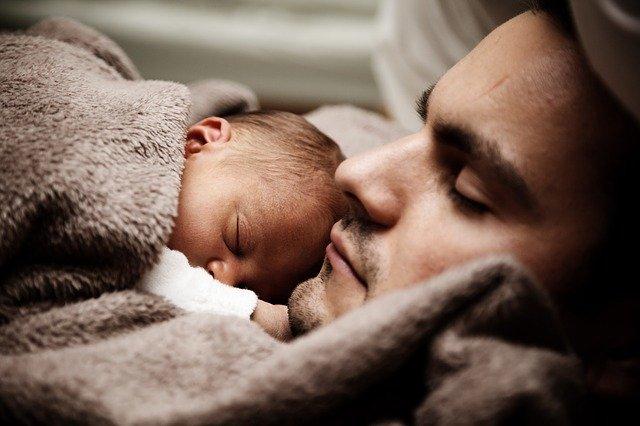 miminko na tátovi