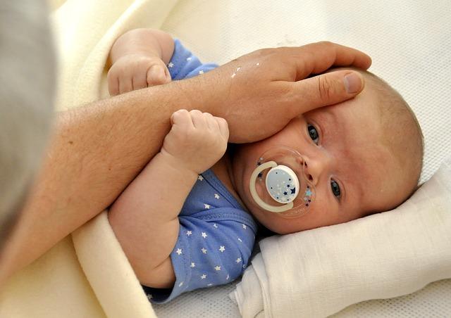 uspávání miminka