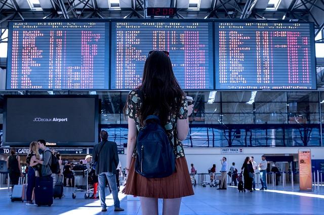 terminál letů