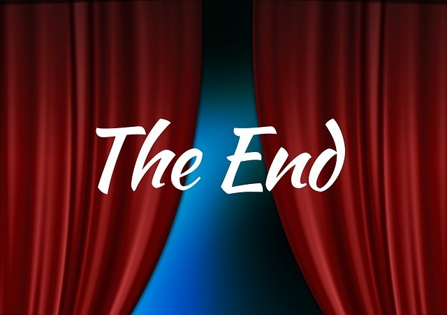 konec představení